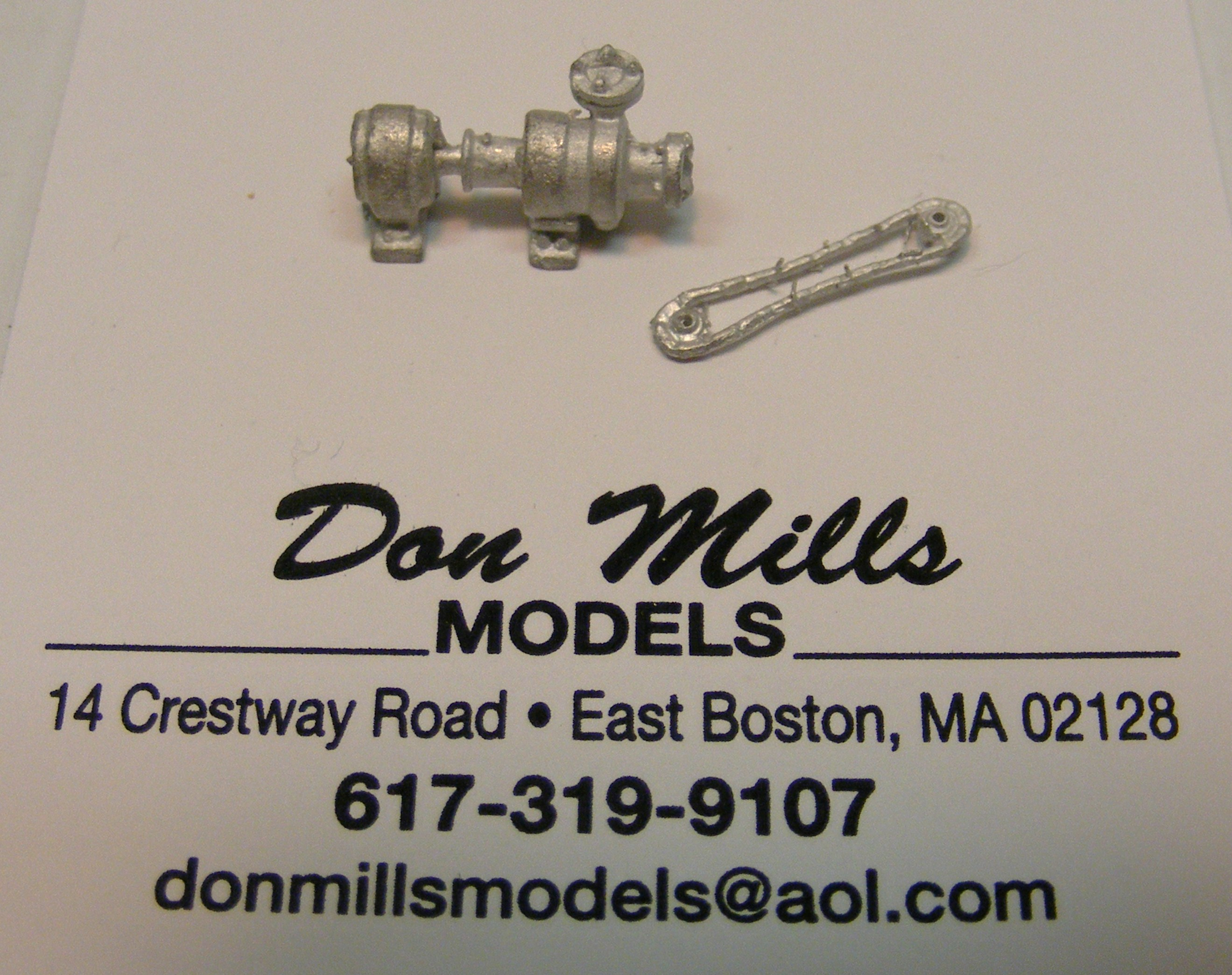 Chain Driven Pumps : Chain driven water pump don mills models